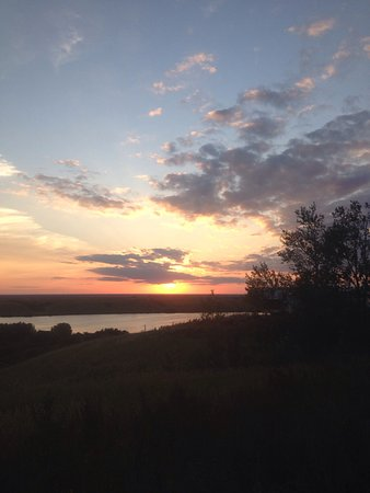 Dundurn, Canadá: Beautiful view from our campsite @ Sunset Ridge Campground