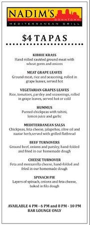 Nadim's Downtown Mediterranean Grill