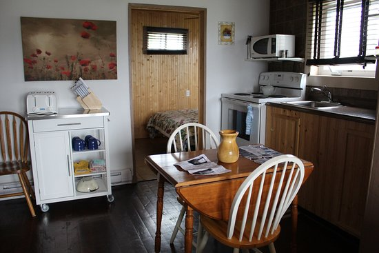 Elliston, Canadá: Bird Island Inn B&B - Efficiency Unit full kitchen
