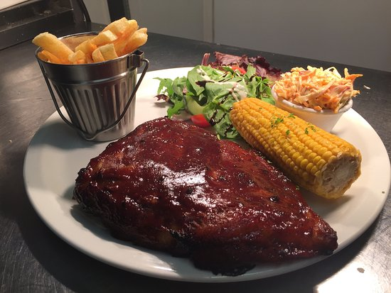 Jack Sprat's: Rack of Pork Ribs