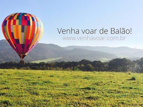 Aracoiaba Da Serra, SP: Venha voar de Balão!