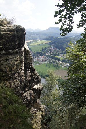 Bastei, Tyskland: Скалы Бастая