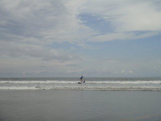 Playa Grande, Costa Rica: my first wave