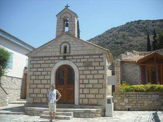 The Monastery of Aghia Moni (Aria)