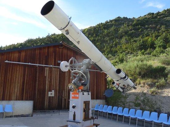Observatoire des Baronnies Provençales : La lunette géante