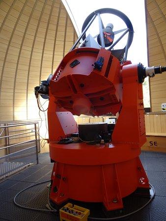 Observatoire des Baronnies Provençales : le télescope de la coupole