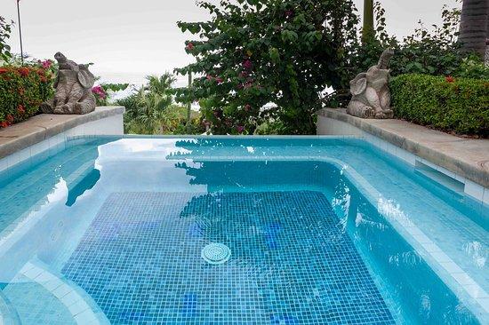 Playa Yankee, Nikaragua: Upper Pool.