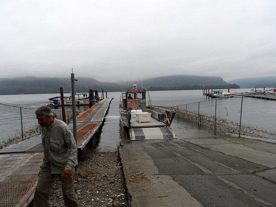 Port Alberni, Canadá: water taxi
