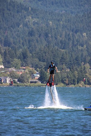 Gorge Flyboard: Flying above the Columbia River! FUN!!!