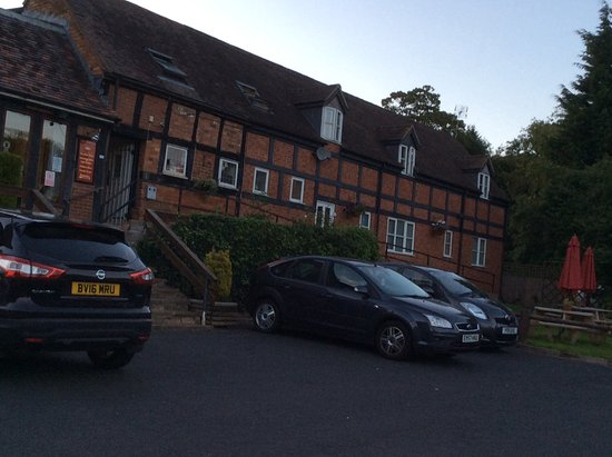 Cleobury Mortimer, UK: The crown at Hopton