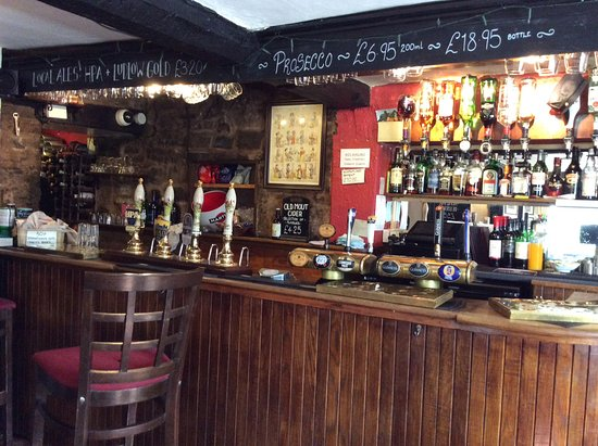 Cleobury Mortimer, UK: The bar