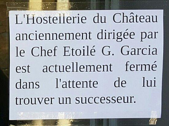 Hostellerie du Chateau de La Pomarede: 20160812_192220_large.jpg