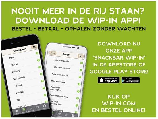 Callantsoog, Holandia: Bestel nu via onze Wip-in app!