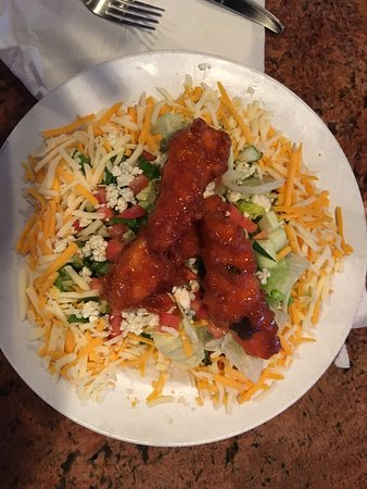 Bru's Room: Dolphin Tacos and Buffalo Chicken Salad