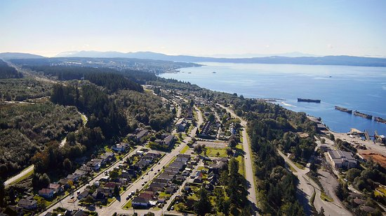Aerial View of Powell River
