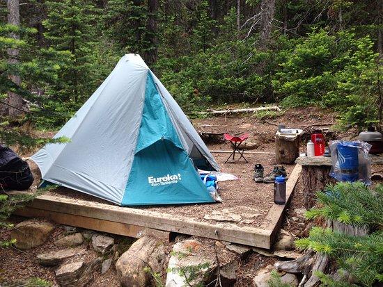 เทือกเขาร็อกกี้ของแคนาดา, แคนาดา: Berg Lake Camp