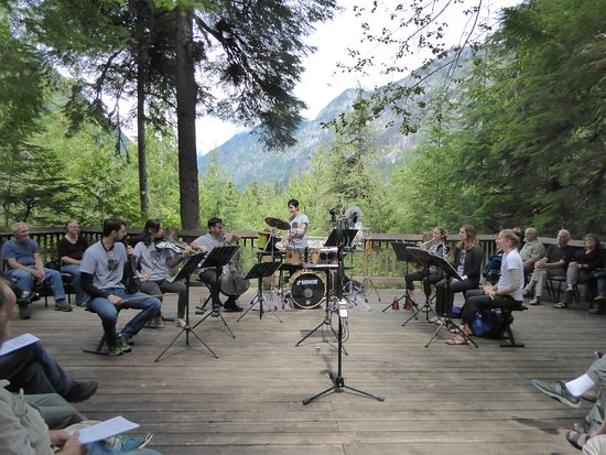"""North Cascades Highway: """"Music in the American Wild"""" at the North Cascades Visitor Center"""