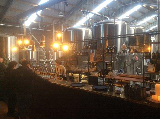 Matakana, Nowa Zelandia: Inside the Brewery
