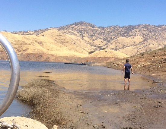 Lemon Cove, CA: Lake Kaweah shore