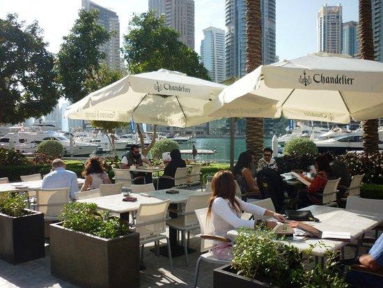 Chandelier Restaurant Amp Lounge Dubai The Marina