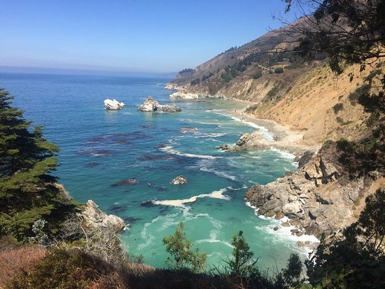 Big Sur Campground & Cabins: Sea