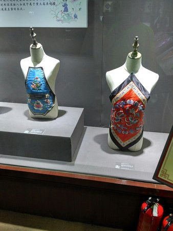 Hu County, China: Выставка рукодельниц