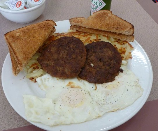Kadoka, SD: Eggs & Sausage...