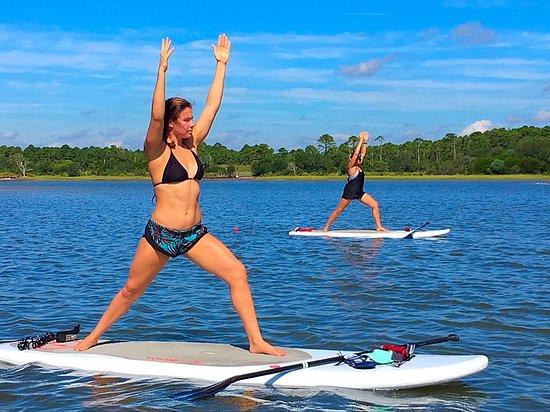 Fernandina Beach, FL: SUP yoga