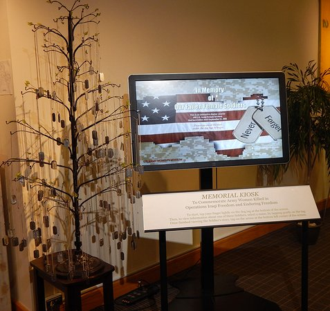 Fort Lee, VA: An exhibit dedicated to the women who lost their lives in OIF/OEF