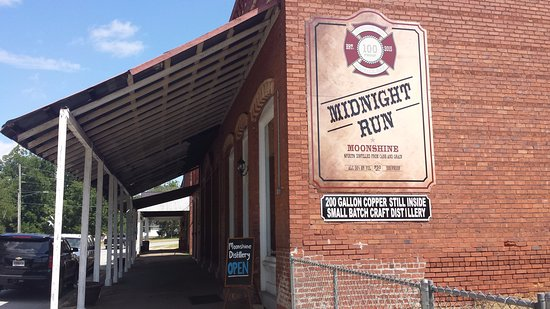 Bartow, Джорджия: Midnight Run Distillery