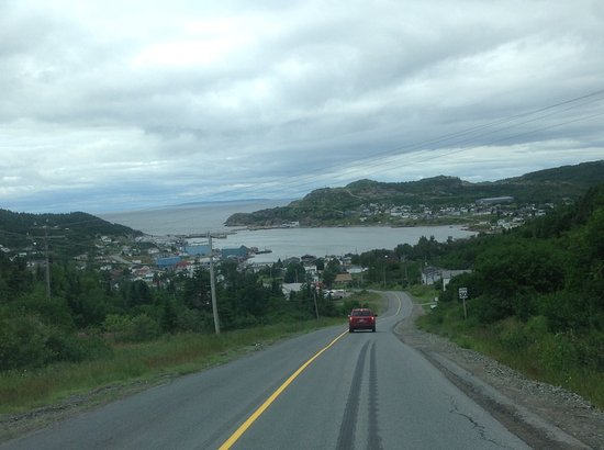 Our first view of La Scie