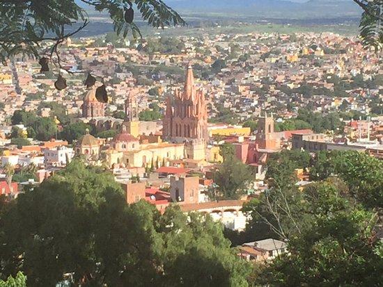 Hotel Posada de las Monjas: San Miguel from upper road