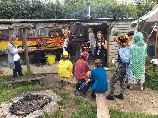Davidstow, UK: Belle Tents Camping