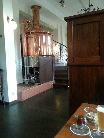 Parchim, เยอรมนี: Kleine Bierprobe vom selbstgebrautem Bier ist zu empfehlen.