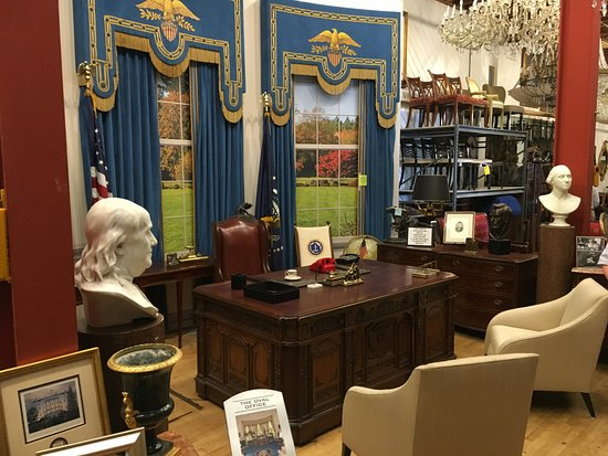 west wing oval office. Studio Tour Hollywood: Part Of Oval Office Set From TV Series The West Wing O