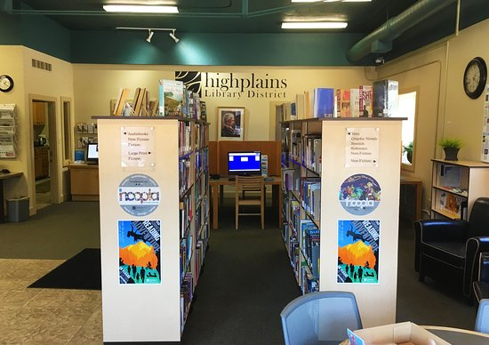 High Plains Library District - Kersey Library : Books