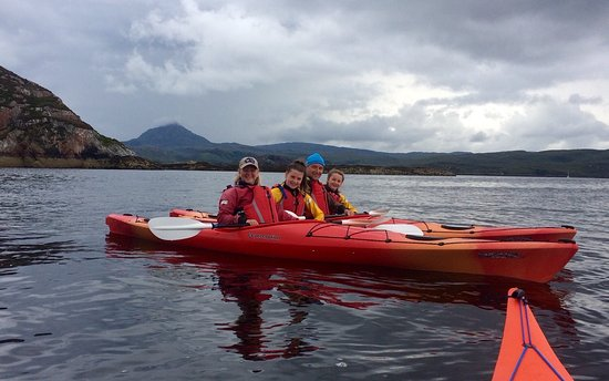 Rhiconich, UK: Great day kayaking with the Ridgway team