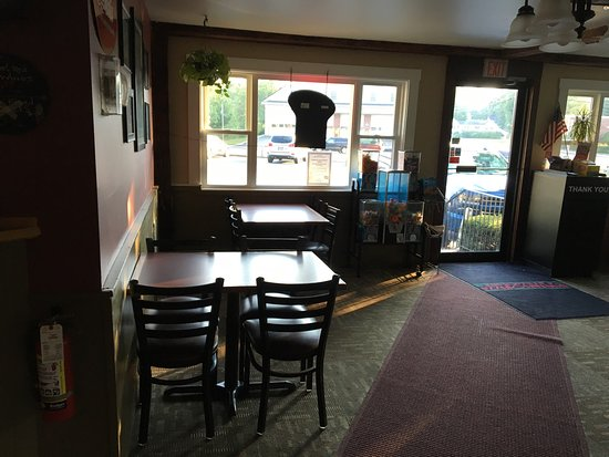 Contoocook, NH: One side of the dining room