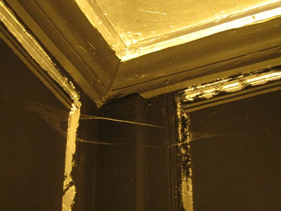 Painswick, UK: Cobwebs in every corner
