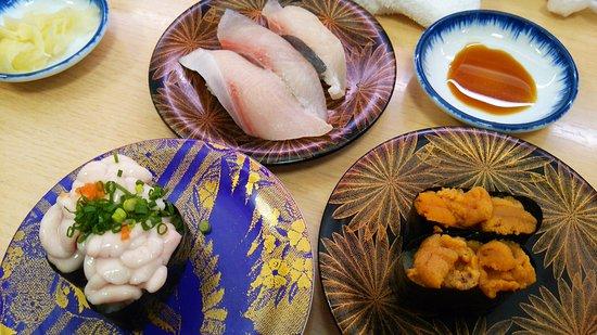 Kaitenzushi Matsuriya: どれも新鮮でおいしかった