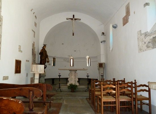 Mergozzo, Italia: Interno chiesa di Santa Marta