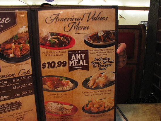 Hoss's Steak & Sea House: Prices