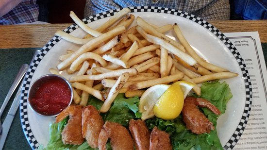 Gridley, Kalifornia: Shrimp and Fries