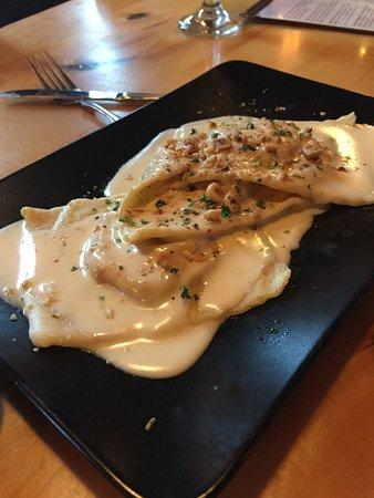 Wauwatosa, WI: Butternut ravioli