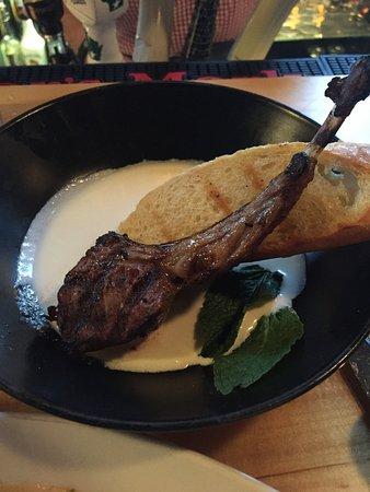 Wauwatosa, WI: Smoked lamb chop
