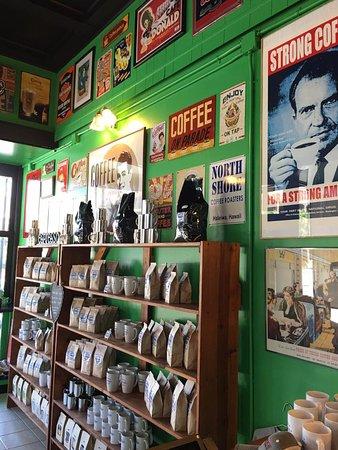 Остров Гейвлстон, Техас: Fresh Roasted coffees