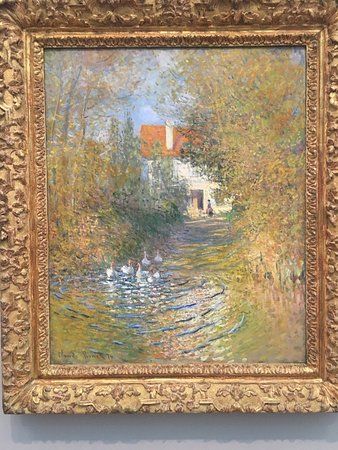 Williamstown, MA: One of the magnificent paintings: The Geese by Monet
