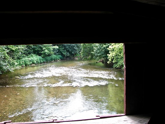 Leola, PA: From the bridge window