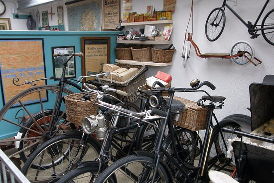Athlone, Ierland: Old bicycles