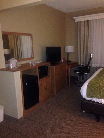 Comfort Suites: Comforts